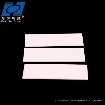 plaque de substrat en céramique d'alumine al2o3 haute température