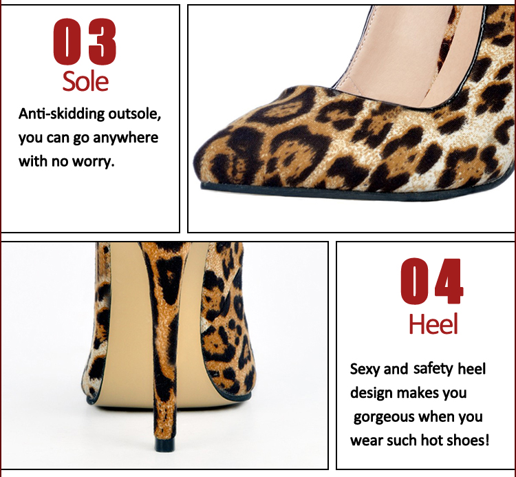 leopard print stiletto heel shoes