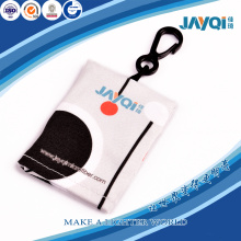 Microfiber Cleaning Clothes Keychain