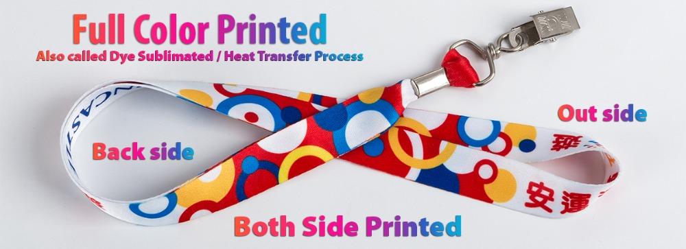 Custom Printed Lanyard