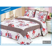 100%Cotton Print Bedding Quilt (bed cover)