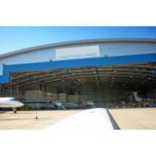 Estrutura de aço Prefab Aircraft Hangar Construction