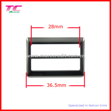 36.5mm Metal Buckle for Bag with Gun Metal Plating