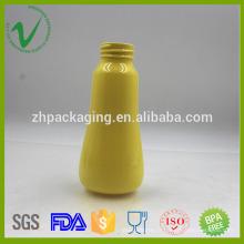 Bouteille en plastique de shampooing transparent vide PET 200ml