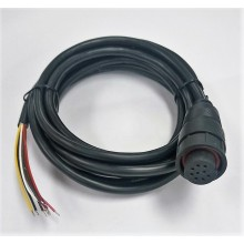 M19 9pin water proof cable assembly black