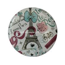 Espelhos personalizados atacado um lado Paris estilo cosméticos