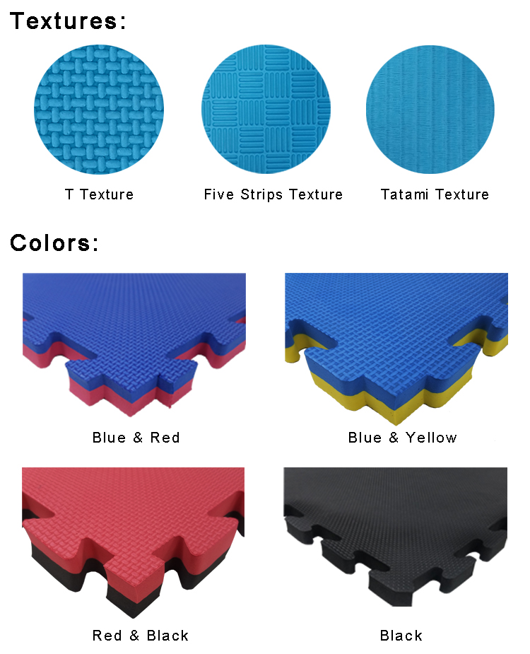 EVA Wrestling Mat color