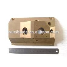Latão recursos materiais latão cnc peças cnc usinados componentes, personalizado latão cnc torno peças