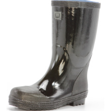 Basic Mens Safety Steel Toe Cap Rubber Rain Boots
