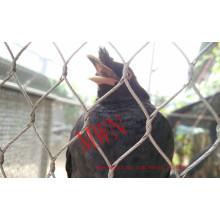 La malla de acero inoxidable para animales