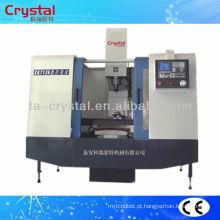 metal 4 eixos cnc fresadora cnc XH713B