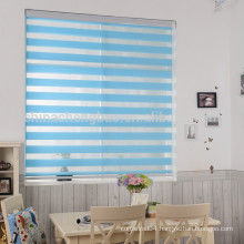 Double layer zebra blinds lace pleated window blinds