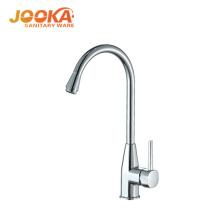 Long spout deck mounted cold water zinc ktichen tap