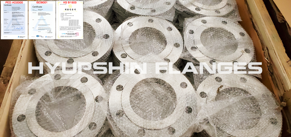 Hyupshin Flanges Plate Flanges Raised Face En1092 1 Din Uni