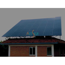 Solar Ground Mount for Concrete Flat Roof PV System