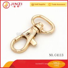 Shiny Gold snap hook,metal fittings for handbags