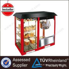 Heavy Duty Stainless Steel Cinema máquina de fabricação de pipoca industrial