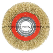 Circular Brushes-Crimped Wire 4′′ for Shoe Industry