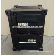 Industrial Style Metal Bed Side Cabinet