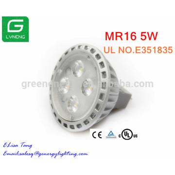 high lumen landscape light led MR16 GU5.3 5W 12V LED Spotlighting