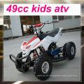 Fábrica venda direta 49cc atv para crianças