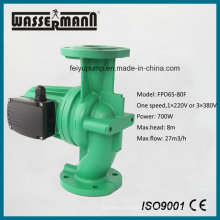 Dn65-Dn80 pequeño hogar calefacción bomba de circulación con puerto con bridas