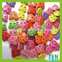 Moda Multicolor Transformadores Turquesa Beads