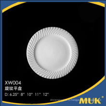 Самые продаваемые товары авиалиния дешевая белая фарфоровая тарелка
