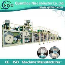 Máquina de fabricación de pañales adultos semi-servos de alta velocidad con la certificación del CE