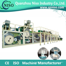 High Speed Semi-Servo Adult Diaper Making Machine with CE Certification