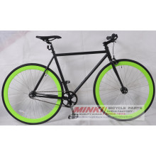 Cromoly Steel Fixed Gear Bicycle (Cog and Freewheel Included)