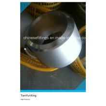 Réducteur de tuyau en acier inoxydable à double extrémité à haute pression