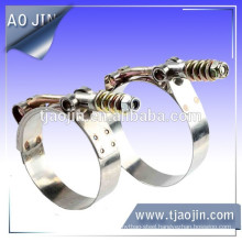 Strong clamp with spring