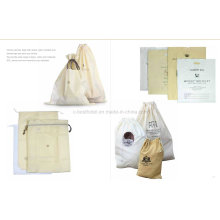 Hotel Bag Non-Woven Hotel Drawstring Laundry Bag