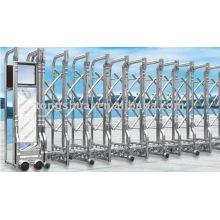 portão automático de dobramento