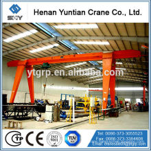 MH Model Electric Hoist Single Beam Gantry Crane, Crane and Hoist Motor
