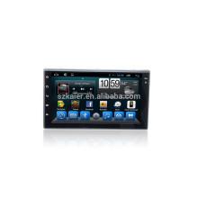 Kaier Fournisseur double din 7 '' Voiture GPS DVD Radio Stéréo universel avec Bluetooth / SWC / Virtuel 6CD / 3G / ATV / iPod
