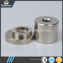Special customized latest design ferrite magnet plastic cover