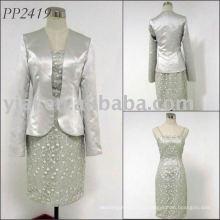 2011 бесплатная доставка высокое качество elgant мать невесты платье 2011 PP2419