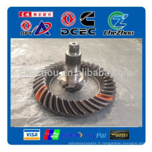 pièces différentielles entraînées par essieu arrière dongfeng 2502ZA839-025