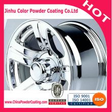 polyurethane powder paint coating PU transparent topcoat