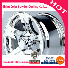 Polyurethane clear topcoat powder paint