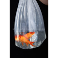Saco de lixo de plástico transparente