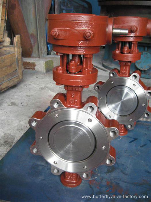 Triple-Eccentric High Performance Butterfly Valve