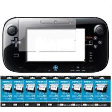 Protector transparente de la película del protector de la pantalla del LCD para el Gamepad de WII U