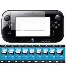 Protecteur de film clair de protecteur d'écran d'affichage à cristaux liquides pour la manette de jeu de WII U