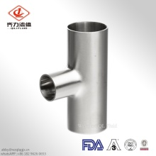 Sanitary Stainless Steel  Equal Tee Welded