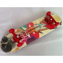 31 Zoll Kanadier-Ahorn-Skateboard (YV-3108-2)