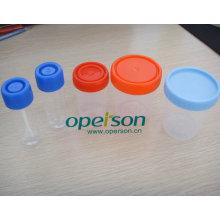 Одноразовые пластиковый стаканчик мочи с различными размерами