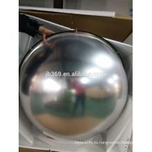 Espejos de esquina de domo completo / espejo de vidrio convexo de seguridad interior